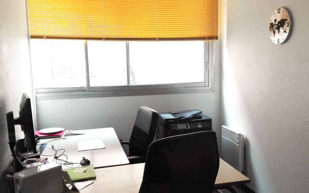 Détail d'un bureau